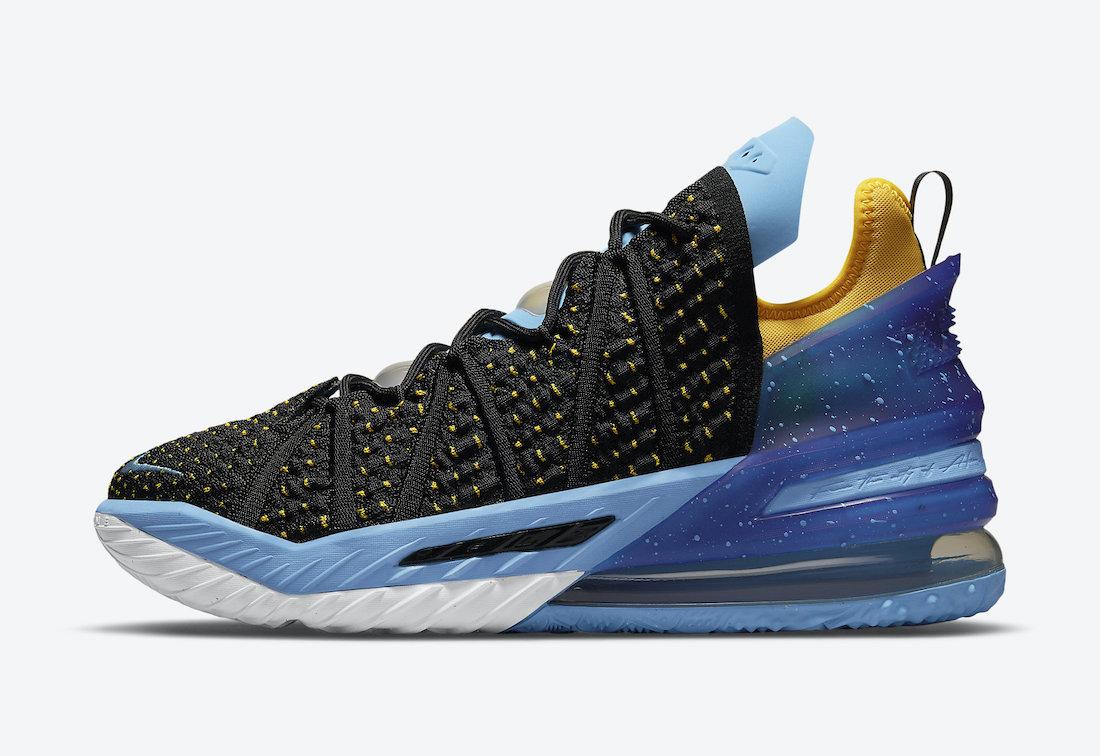 Nike LeBron 18 Minneapolis Lakers CQ9283-006 Release Date Info