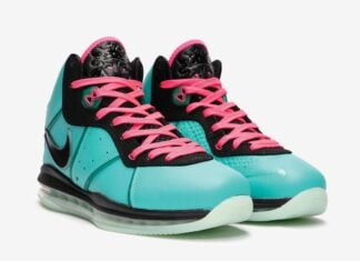 Nike LeBron 8 South Beach CZ0328-400 2021 Release Date