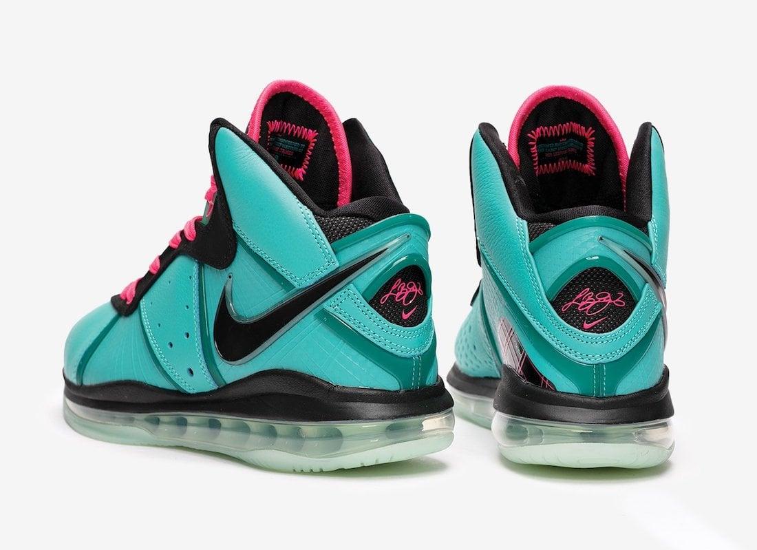Nike LeBron 8 South Beach CZ0328-400 2021 Release Date