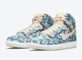 Nike SB Dunk High Hawaii Maui Wowie CZ2232-300 Release Date
