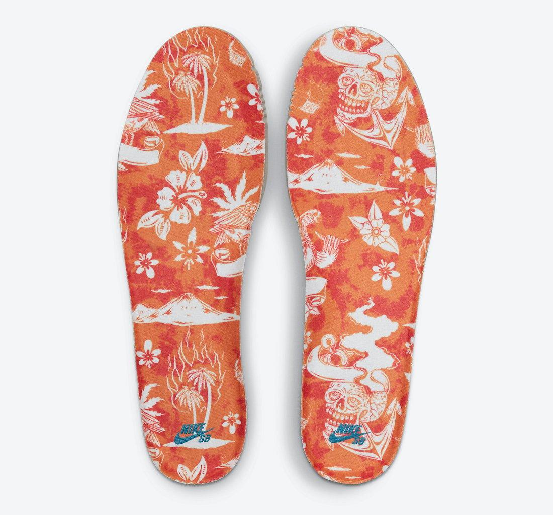 Nike SB Dunk High Hawaii Maui Wowie CZ2232-300 Release Date
