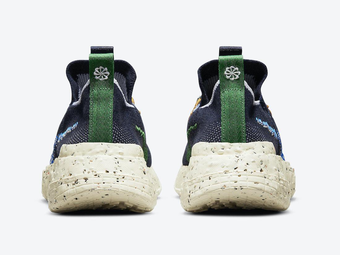 Nike Space Hippie 01 Obsidian DJ3056-400 Release Date Info