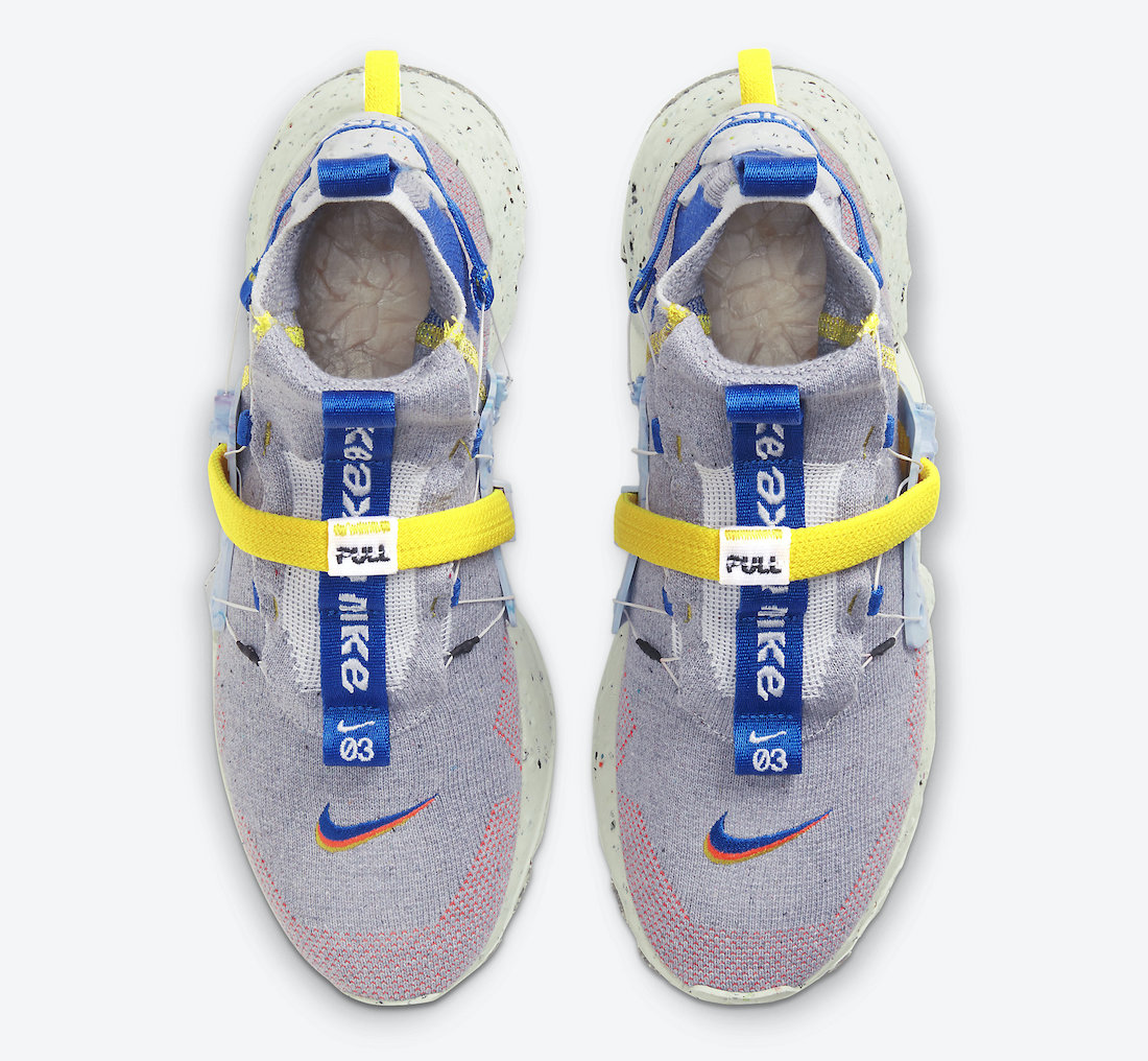 Nike Space Hippie 03 Racer Blue CQ3989-003 Release Date Info