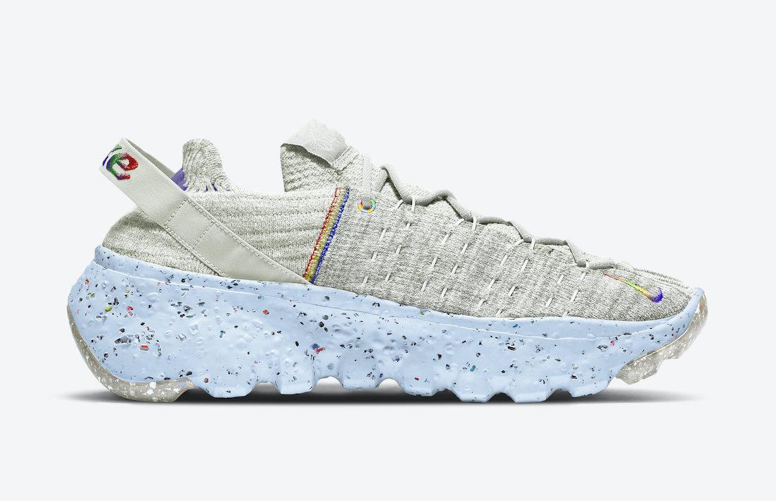 Nike Space Hippie 04 Be True CZ6398-102 Release Date Info