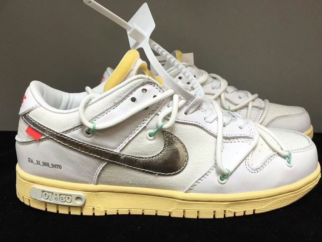 Off-White Nike Dunk Low 01 of 50 Release Date