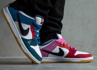 Parra Nike SB Dunk Low DH7695-100 On-Foot