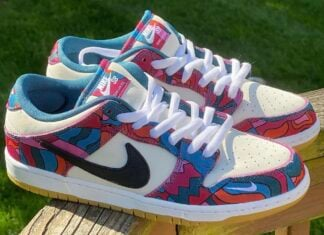 Parra x Nike SB Dunk Low DH7695-102