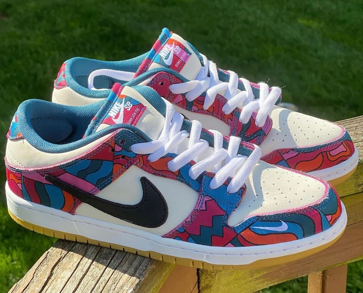 Parra x Nike SB Dunk Low DH7695-102 Release Date