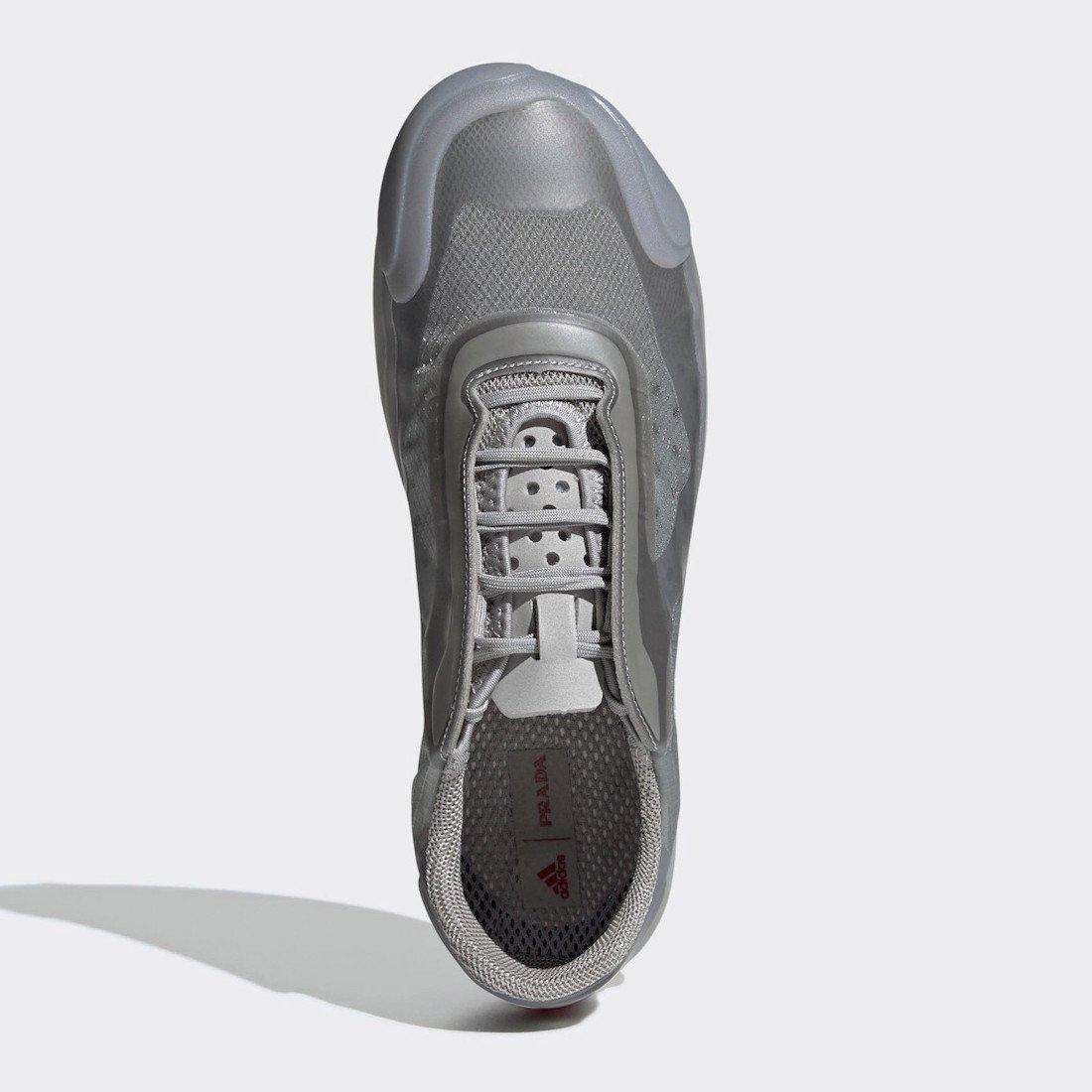 Prada adidas Luna Rossa 21 Silver FW1079 Release Date Info