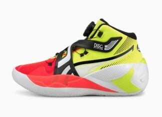 Puma Disc Rebirth Yellow Red 194812-01 Release Date Info
