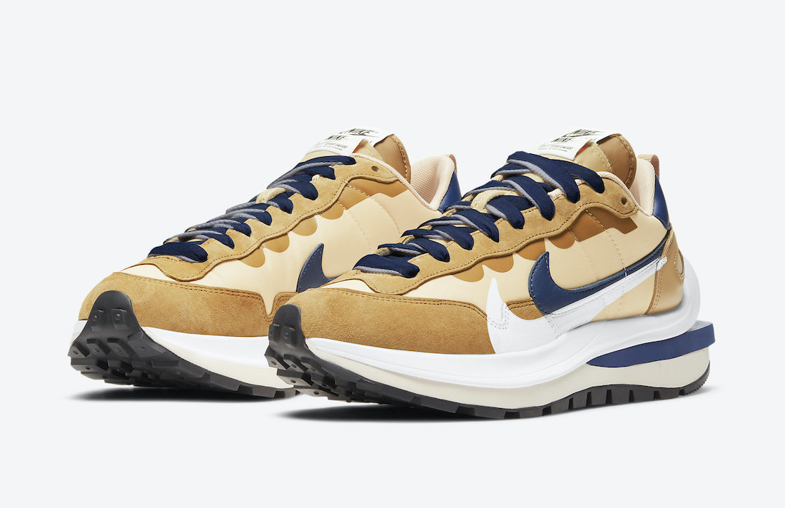 Sacai Nike VaporWaffle Sesame DD1875-200 Release Date
