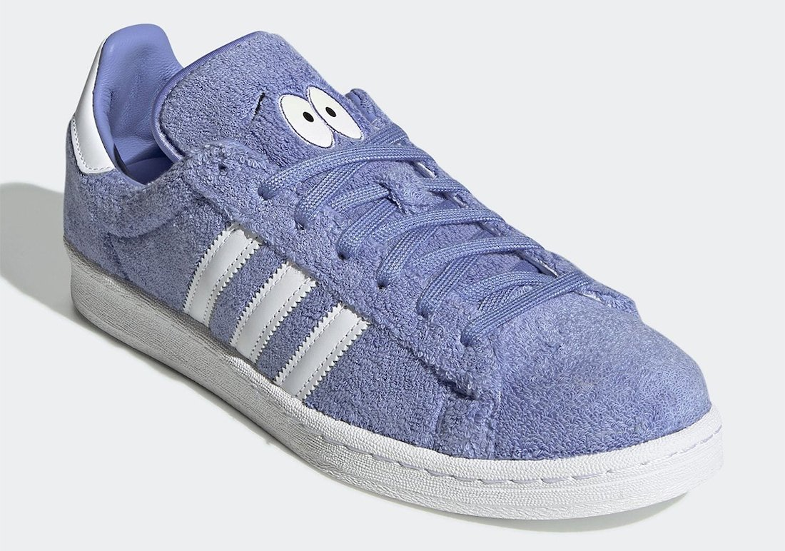 South Park adidas Campus 80s Towelie GZ9177 Release Date Info