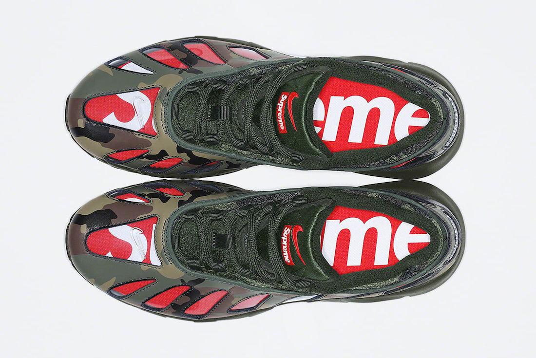 Supreme Nike Air Max 96 Camo Release Date