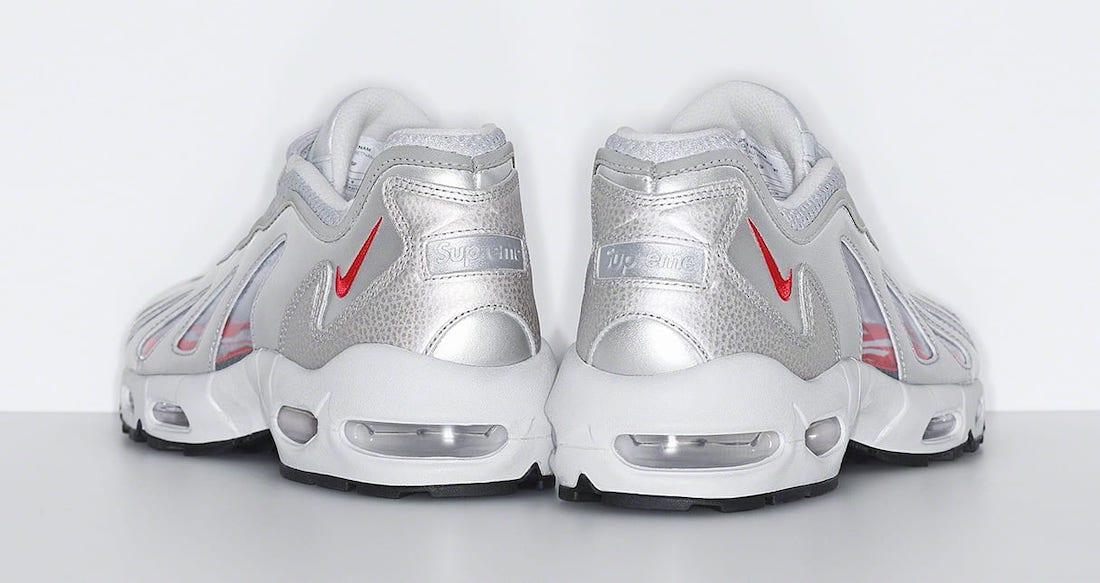 Supreme Nike Air Max 96 Silver Release Date