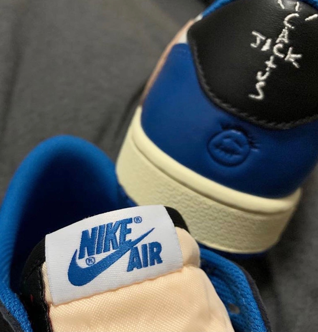 Travis Scott Fragment Air Jordan 1 Low 2021 Release Date