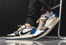 Travis Scott Fragment Air Jordan 1 Low DM7866-140