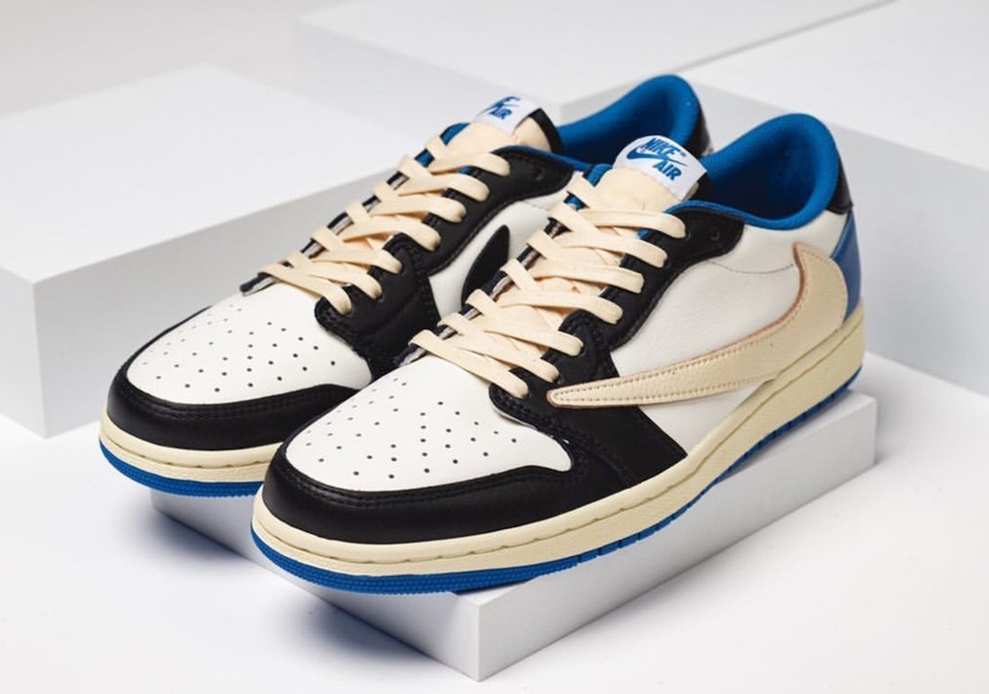 Travis Scott Fragment Air Jordan 1 Low Travis Scott Fragment Air Jordan 1 Low DM7866-140 Release Date