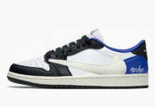 Travis Scott Fragment Air Jordan 1 Low OG