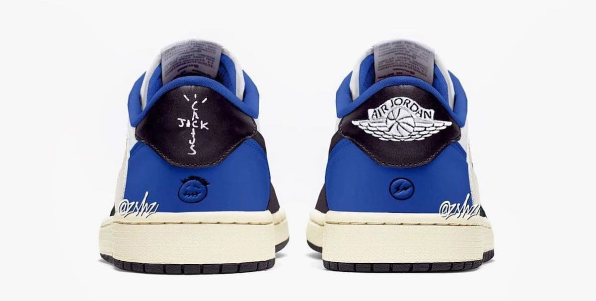 Travis Scott Fragment Air Jordan 1 Low OG Release Date Info