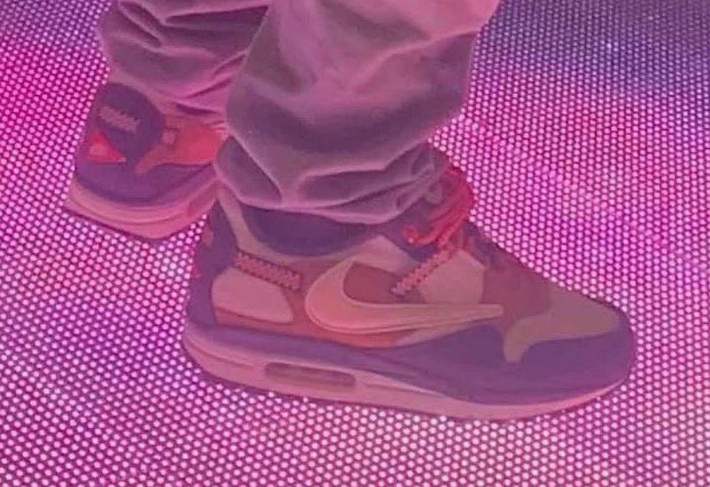 Travis Scott Nike Air Max 1 Cactus Jack On-Feet
