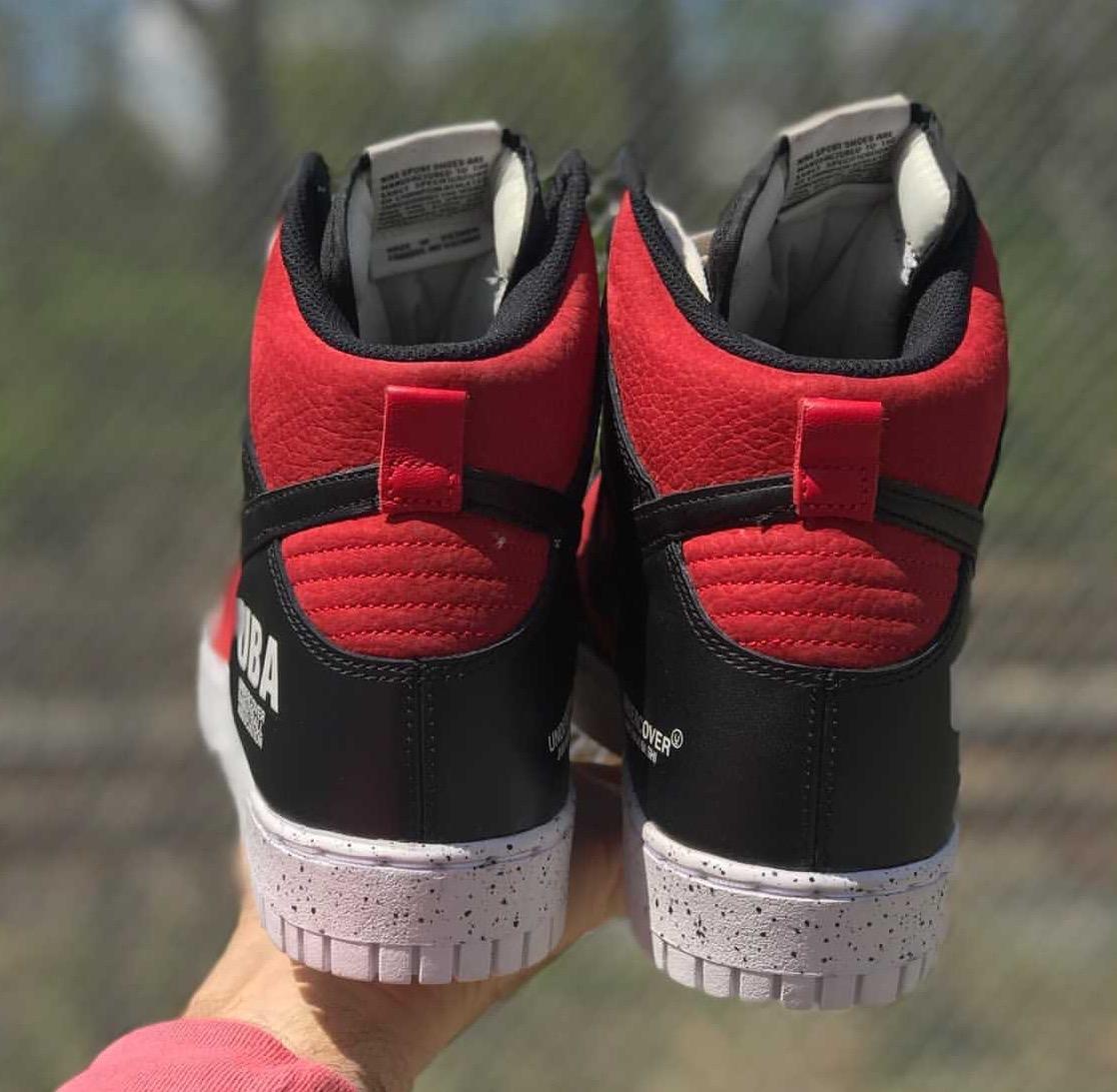 Undercover Nike Dunk High UBA Release Info