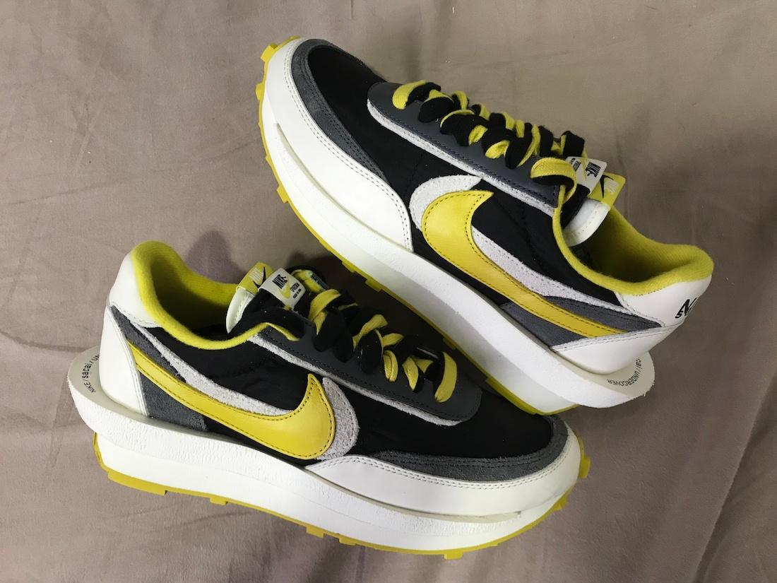 Undercover Sacai Nike LDWaffle Bright Citron DJ4877-001 Release Date Info