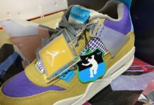 Union Air Jordan 4 Desert Moss DJ5718-300