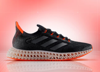 adidas 4DFWD Black Solar Red FY3963