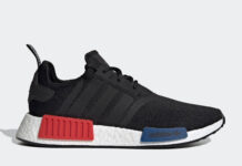 adidas NMD R1 OG Black Red Blue GZ7922 Release Date Info