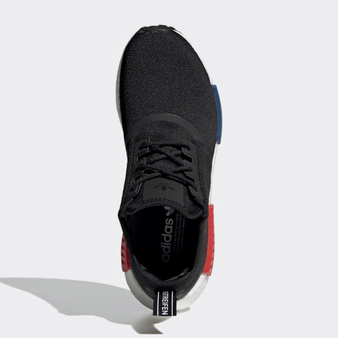 adidas NMD R1 OG Black Red Blue GZ7922 Release Date Info