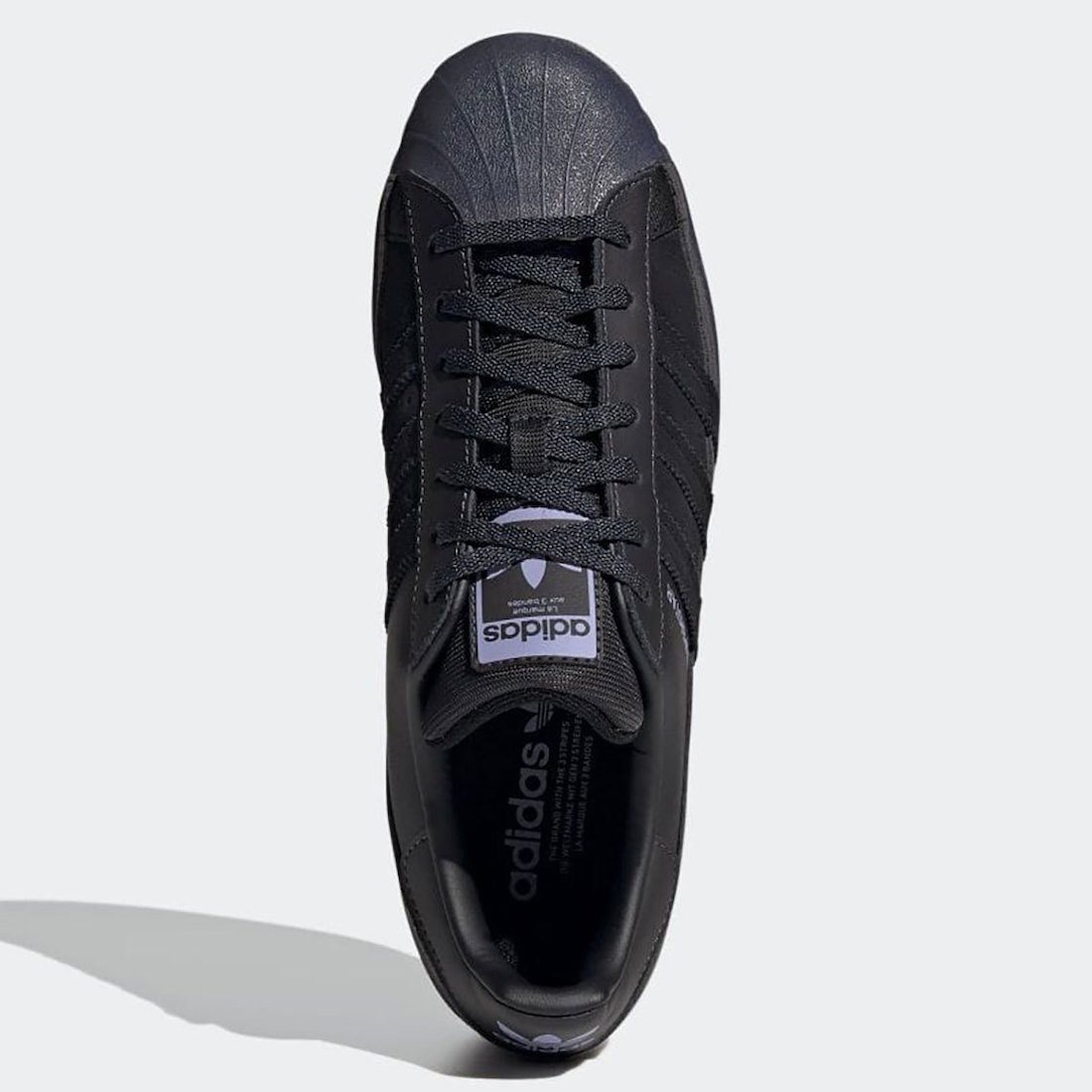 adidas Superstar Core Black Dust Purple FX5564 Release Date Info