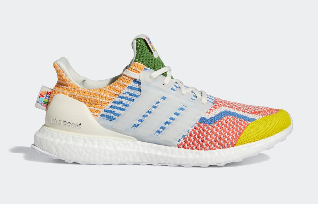The adidas Ultra Boost 5.0 DNA Releasing for Pride Month