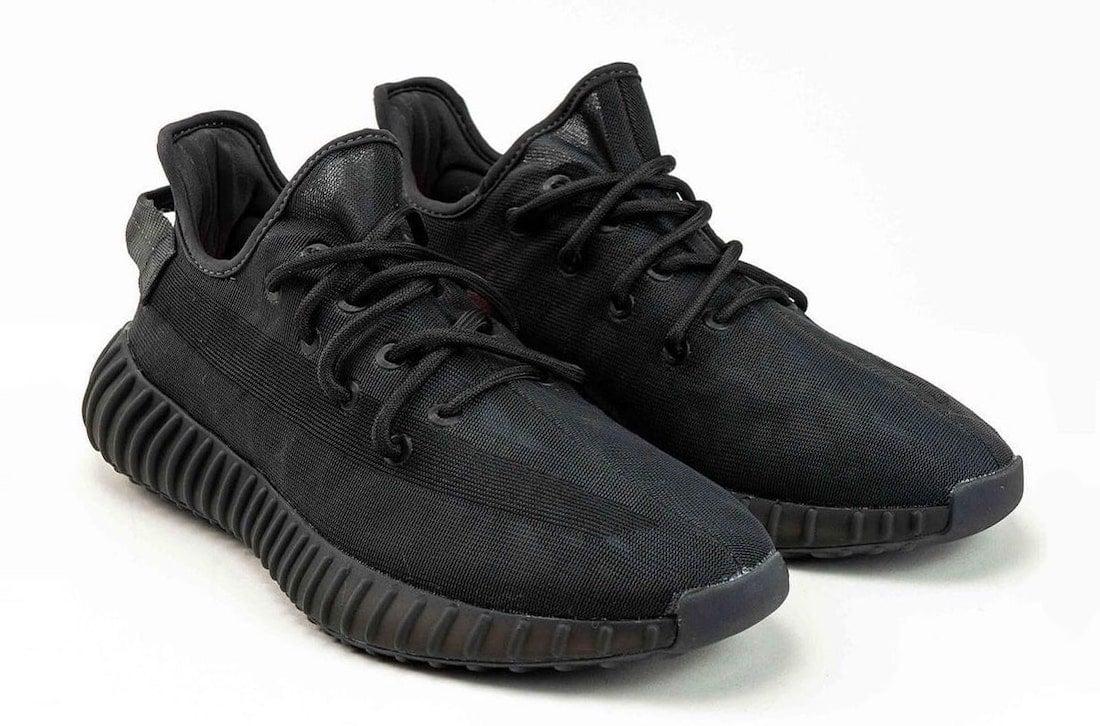 adidas Yeezy Boost 350 V2 Mono Black GX3791 Release Date Info keywords
