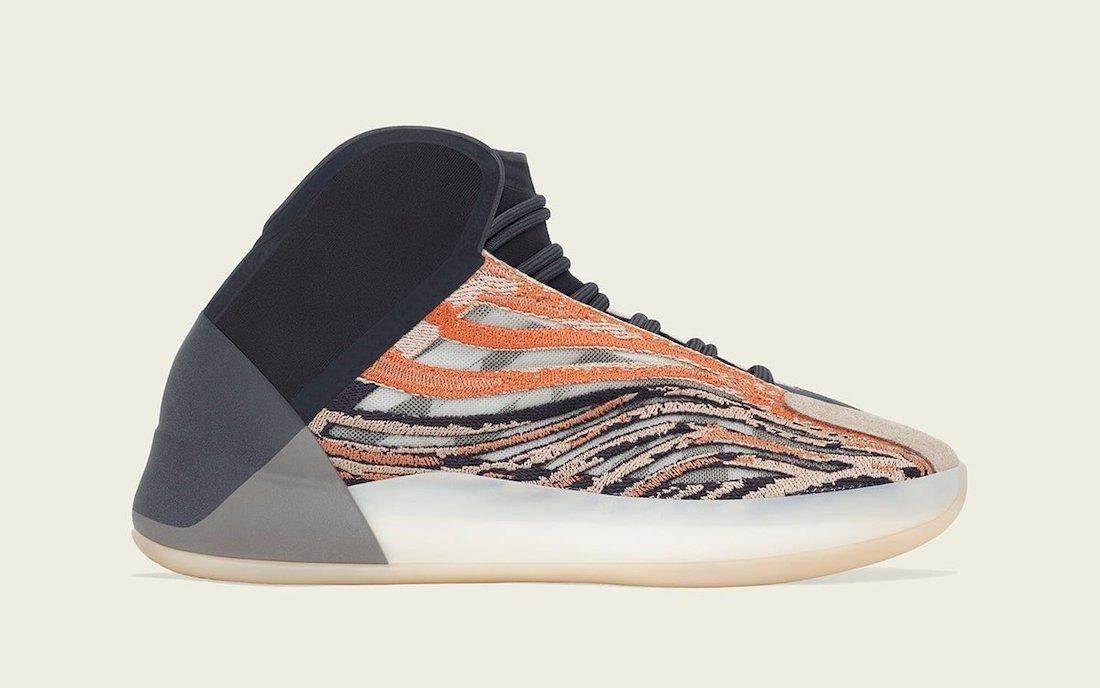 adidas Yeezy Quantum Flash Orange GW5314 Release Date
