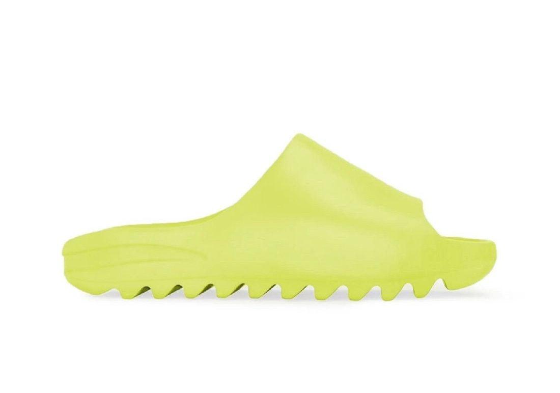 adidas Yeezy Slides Glow Green Release Date Info