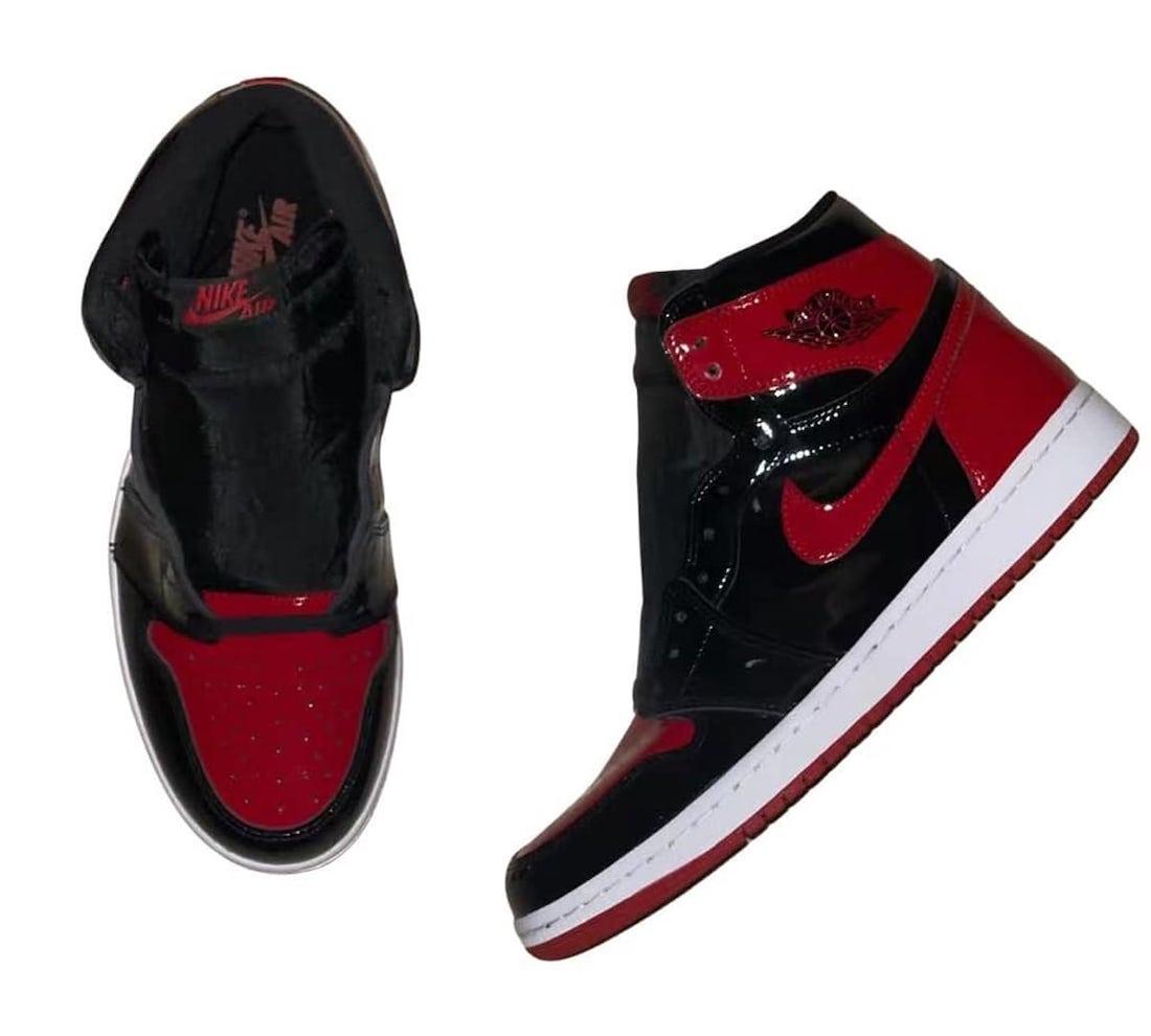 Air Jordan 1 Bred Patent Reimagined 555088-063 Release Info
