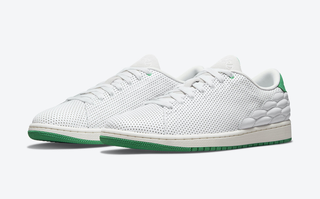 Air Jordan 1 Centre Court White Green DJ2756-113 Release Date Info