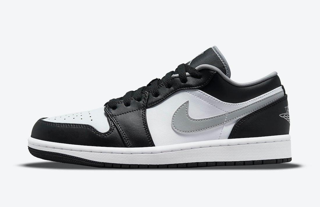 Air Jordan 1 Low Black Medium Grey White 553558-040 Release Date Info
