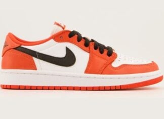 Air Jordan 1 Low OG Shattered Backboard Orange White Black CZ0790-801 Release Date