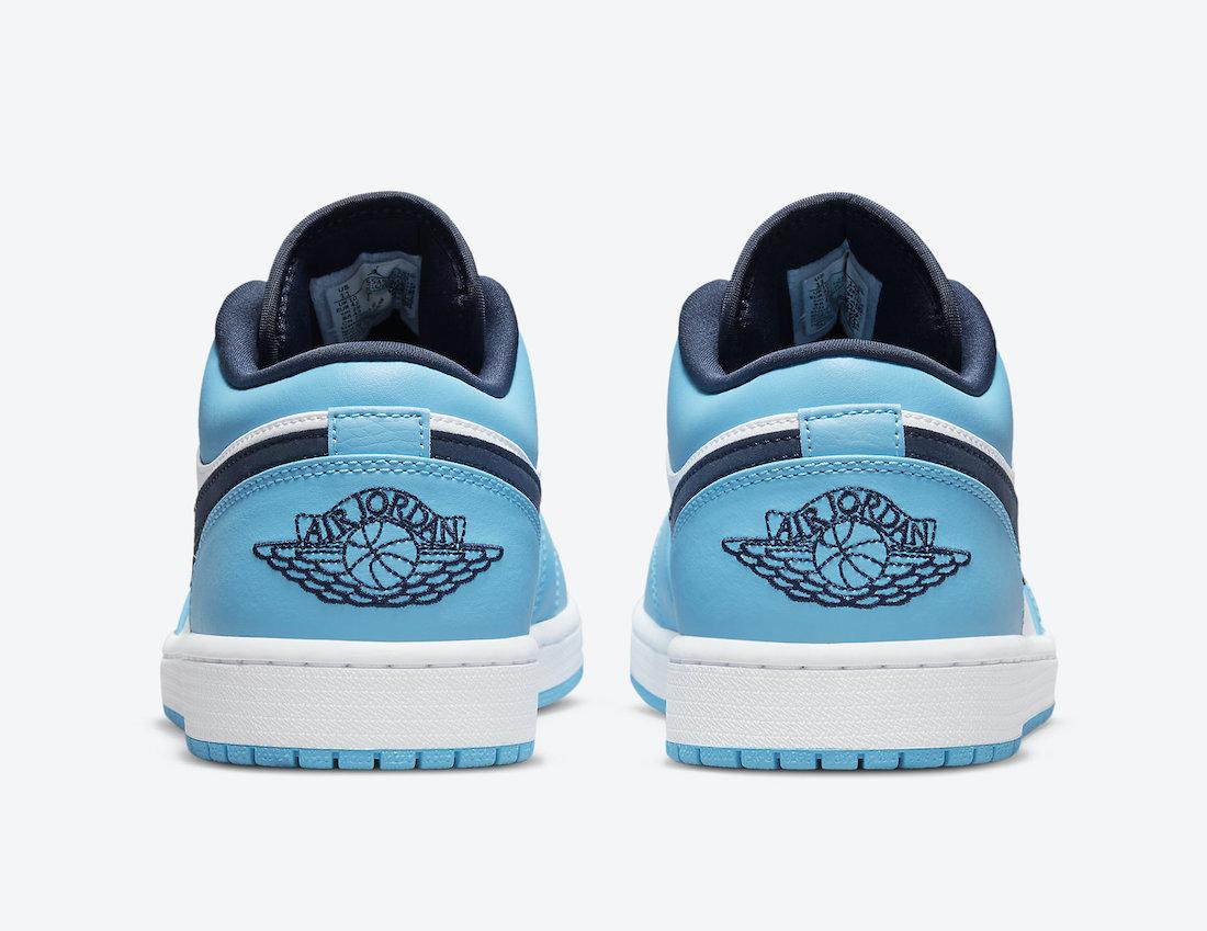 Air Jordan 1 Low UNC 553558-144 Release Date Info