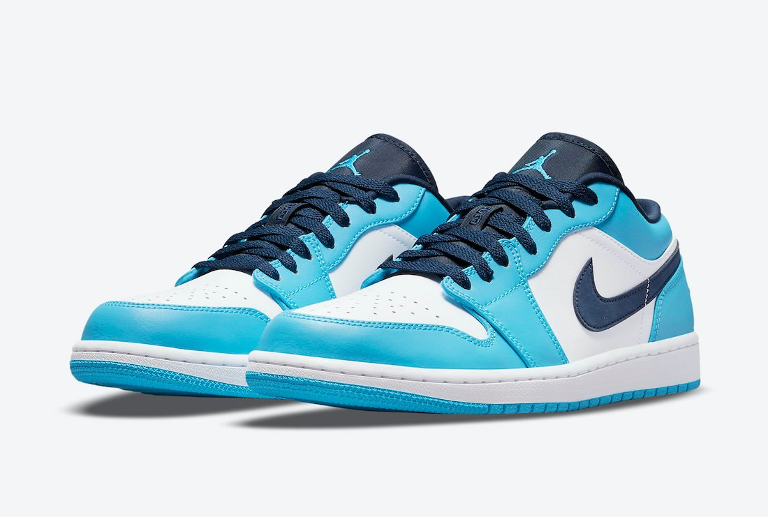 Air Jordan 1 Low UNC 553558-144 Release Date Info | SneakerFiles