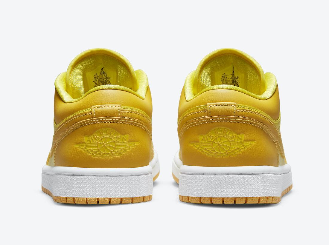 Air Jordan 1 Low Yellow Gold DC0774-700 Release Date Info