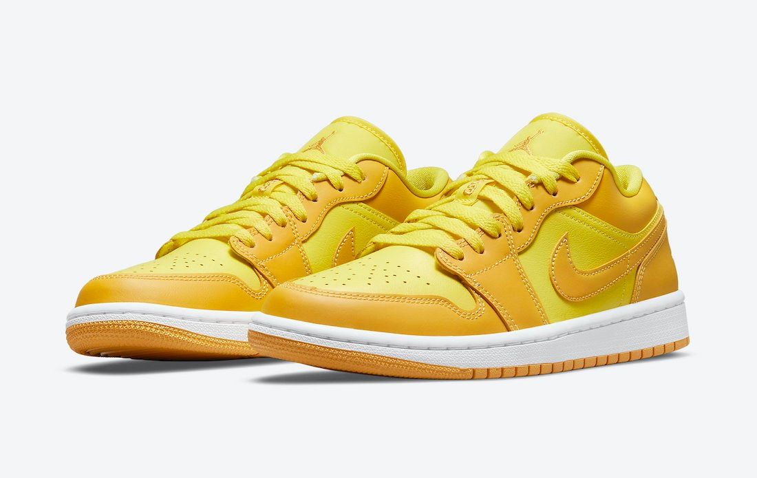 Air Jordan 1 Low in Yellow and Gold Coming Soon