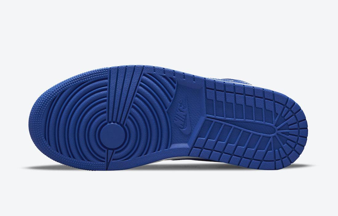 Air Jordan 1 Mid White Blue BQ6472-104 Release Date Info