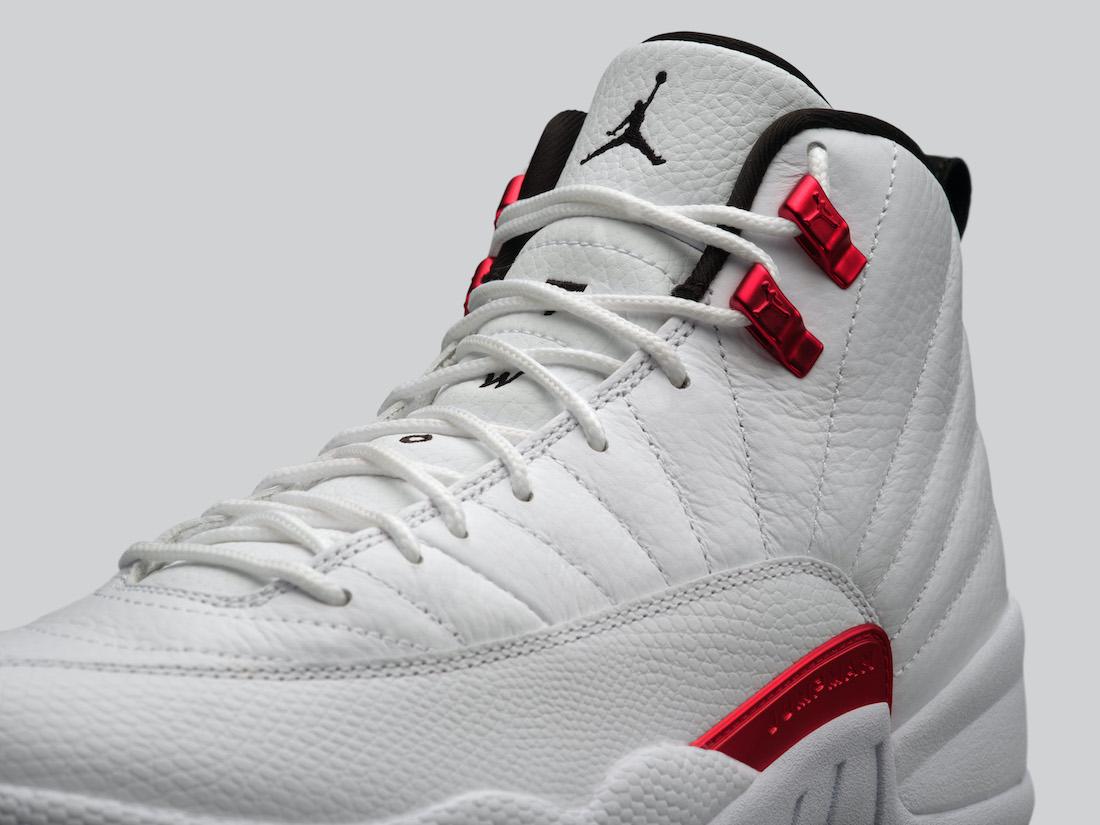 Air Jordan 12 Twist White University Red CT8013-106 Release Date