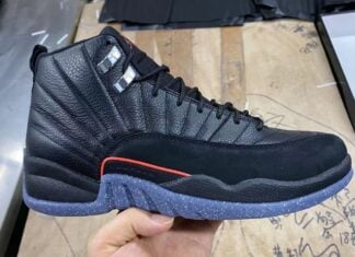 Air Jordan 12 Utility Black Bright Crimson White DC1062-006