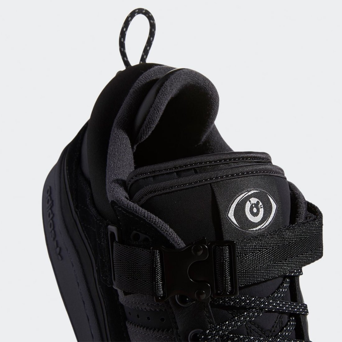 Bad Bunny adidas Forum Buckle Low Black GW5021 Release Date