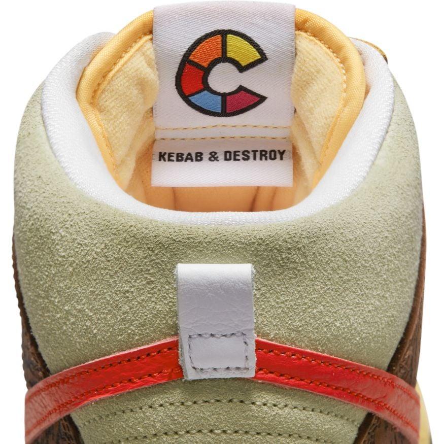 Color Skates Nike SB Dunk High Kebab and Destroy Release Date Info