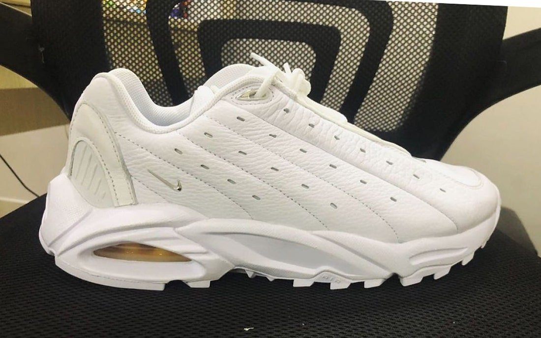 Drake NOCTA Nike Hot Step Air Terra White Chrome Release Date