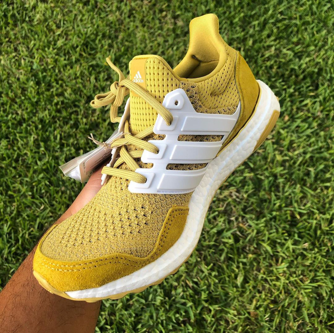 Extra Butter Happy Gilmore adidas Ultra Boost Gold Jacket Release Date Info